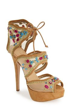 Charlotte Olympia 'Arizona' Platform Bootie (Women) available  at #Nordstrom  Had2B@100% MO