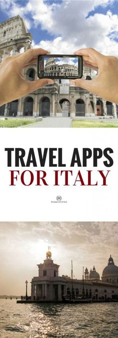 Find out the best travel apps to use in Italy! #italytravel