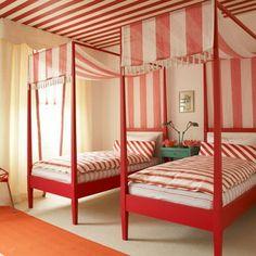 Dec-a-Porter: Imagination @ Home: Color Wheel: Red Hot