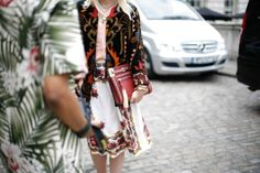 Spring 2013 Street Style + ruby prints.