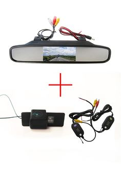 Wireless Color Car Rearview Camera for Nissan QASHQAI X-TRAIL Geniss Citroen C-Triomphe Pathfinder+4.3 Inch  Mirror Monitor
