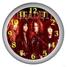 New Megadeth Dave Mustaine Wall Decor Clock