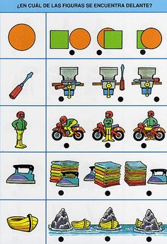 NOCIONES - Phonos Donostia - Picasa Webalbums Prepositions, Preschool Math, Matching Games, Speech And Language, Activities For Kids, Kids Rugs, Teaching, Children, English