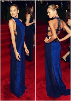 Candice Swanepoel Met Gala 2012 in a dress by Rag and Bone. Lovveeeeee this dress