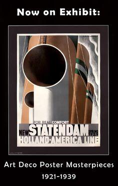 d' apres A. M. Cassandre Art Deco Poster Masterpieces (Statendam), 2004