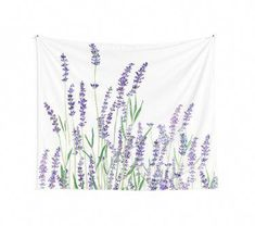 """""""purple lavender """" Wall Tapestry by ColorandColor Purple Tapestry, Tapestry Bedroom, Bedroom Wall, Wall Tapestry, Teen Bedroom, Dream Bedroom, My New Room, My Room, Spare Room"""