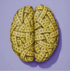 'The measured brain' by Horst Baerenz-Cao - Illustration from Germany