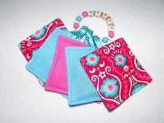 Fühlsäckchen 5er Set mit Wunschnamen von lovemade home auf DaWanda.com