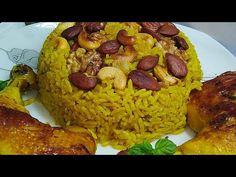 روز أزعر بالفاكية بتفاصيله وأسرار نجاجه و كيفاش اجيك الروز كعبة بكعبة /أرز بالفاكية/riz fruits secs - YouTube Tunisian Food, Grains, Rice, Dried Fruit, Laughter, Jim Rice