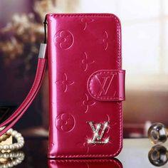 c293faf7fb24 Most Unique Louis Vuitton Magenta Vernis Wallet Case for iPhone Plus -  Shopping at