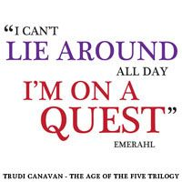Bookmark design for Trudi Canavan's Age of the Five trilogy