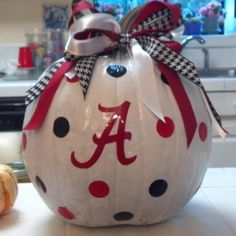 This will be the pumpkin sitting on our front porch this year!