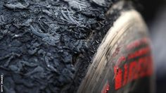 A battered Pirelli tyre. F1 2013, Pirelli Tires, Australian Grand Prix, Martini Racing, Used Tires, Red Bull Racing, Karting, Formula One, Best Funny Pictures