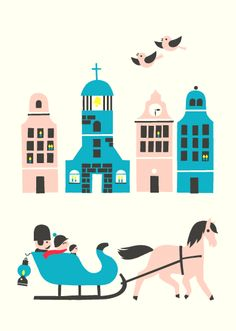 New Christmas cards by Polkka Jam