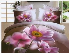 Highest-Price、 Classy and fashion Floral Bedding Sets online shopping site Purple Bedding Sets, 3d Bedding Sets, Purple Bedrooms, Floral Bedding, Bedding Sets Online, Comforter Sets, Bed Sets, Cama Floral, Pink Poppies