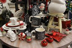 Vintage Christmas Decor and Decorations