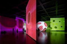 Otto Piene, The Proliferation of the Sun, 2014. Installation view Neue Nationalgalerie Berlin.