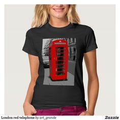 London red telephone T-Shirt