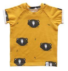 Kleine Baasjes Organic - Raglan Shirt Skunky Oker