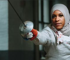 A New Edge for Team USA. Time. Mar 14, 2106.  Lexile: 1100. The article discusses African American Muslim fencer Ibtihaj Muhammad who is expected to compete for the U.S. women's fencing team during the 2016 Summer Olympic Games in Rio de Janeiro.