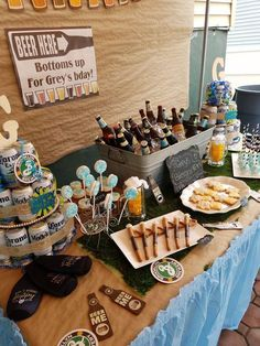 Birthday Party Themes For Adults New Ideas - Geburtstag Husband Birthday Parties, 30th Birthday For Him, Beer Birthday Party, 30th Party, Man Birthday, Birthday Party Themes, 30th Birthday Ideas For Men Surprise, Birthday Party Ideas For Adults, Birthday Morning