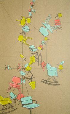 Eames poster prints