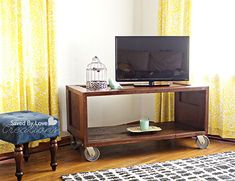TV Stand Ideas Door Décor