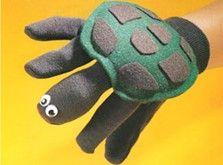 Garden Glove Turtle Puppet