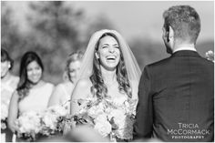 Love this #happy #bride!  Tricia McCormack Photography @triciaphoto