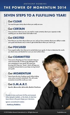 Seven Steps To A Fulfilling Year by Tony Robbins **Watch Tony Robbins Live**