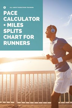 Pace Calculator + Miles Split Chart for Half & Full Marathoners Running Race, Running Workouts, Running Tips, At Home Workouts, Marathon Nutrition, Half Marathon Training Plan, Running For Beginners, Running Motivation, Weight Training