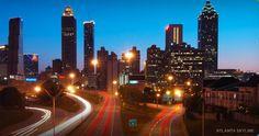 Atlanta!  Coca-cola factory tour and underground mall, anyone?  :)  Good times.