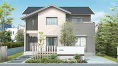 大安心の家の設備・仕様、屋根材・外壁について | 家を建てるならタマホーム株式会社 Sims 4 Build, Japanese House, Loft, My Dream Home, House Plans, Shed, Exterior, Outdoor Structures, House Design