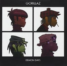 Demon Days - Gorillaz Album