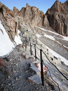 The Cables on Mt Whitney