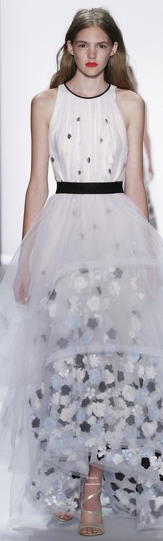 Badgley Mischka Collection Spring 2016 Ready-to-Wear