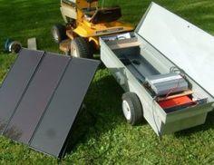 Home Made Solar Portable Generator