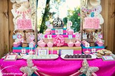 Fairy Themed Sisters Birthday party - love the colors