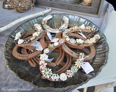 I may have my old family shoe horses to add old family jewelry to - this is so clever!