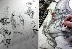 character design sketchbook assignment