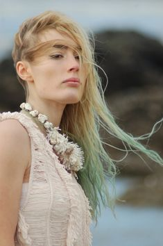 Mermaid fashion | Backstage Paulette | Elsa Muse | Photo : Paul Mougninot | Stylisme : Magali Forey & Ludivine Ifergan