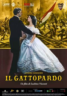 """Il gattopardo"", aka ""The Leopard"", epic historical drama film by Luchino Visconti (Italy, 1963)"