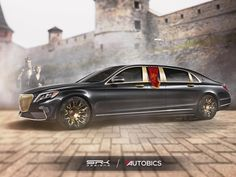 If Game of Thrones had cars in it. Cersei Lannister would have loved to be driven in the Mercedes-Benz S600 Pullman Maybach Guard  #Autobics #GoTS7 #GameOfThrones #WinterIsHere  #CerseiLannister  #Rendering #SRKdesigns #MercedesBenz #Sclass #Maybach #MaybachPullman #Mercedes #FanArt