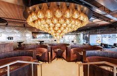 Les plus beaux restaurants deco a Paris : L'Éclectic par Tom Dixon