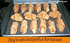 Pumpkin Pie Crescent Rolls are such a tasty dessert recipe!