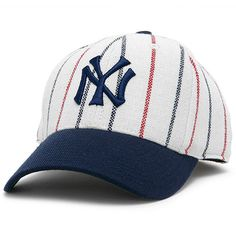 674455952b32d New York Yankees American Needle Cooperstown Fitted Hat - White Navy -   34.99 Fitted Baseball