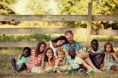 beautiful family photo . . .
