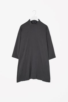 High-neck A-line Tunic