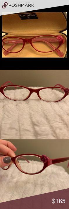 f85cc937b8fa Vintage Chanel Eyeglasses Pink Rosebud 💯 authentic prescription chanel  eyeglasses (you will need to get