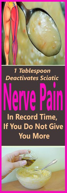 1 Tablespoon Deactivates Sciatic Nerve Pain In Record Time, If You Do Not Give You More – Let's Tallk